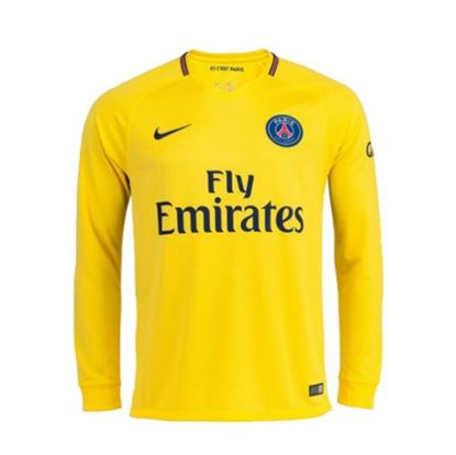 Picture of 2017/18 Paris Saint-Germain Away Full Sleeve Exclusive Jersey