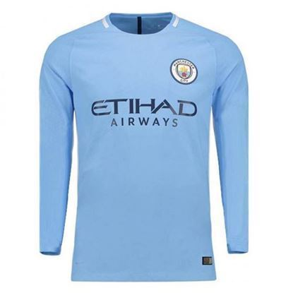 Picture of  2017-18 Manchester City Home Full Sleeve Exclusive Jersey