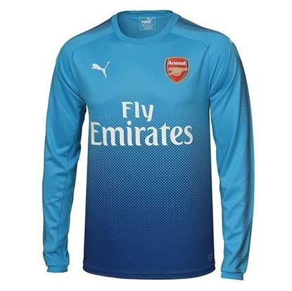 Picture of 2017-18 Arsenal Away Full Sleeve Jersey