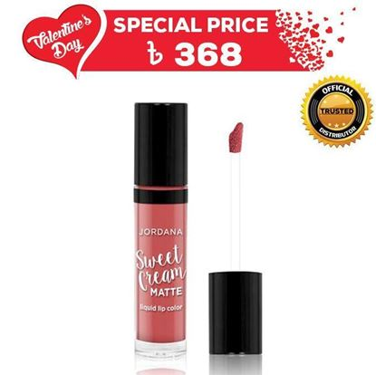 Picture of  Jordana Sweet Cream Matte Liquid Lipstick - Tiramisu