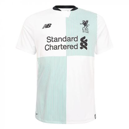 Picture of 2017/18 Liverpool Away Half Sleeve Jersey