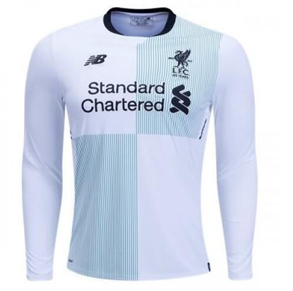 Picture of 2017/18 Liverpool Away Full Sleeve Exclusive Jersey