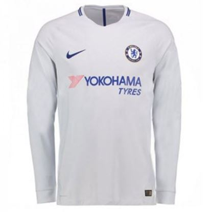 Picture of 2017/18 Chelsea Away Full Sleeve Jersey
