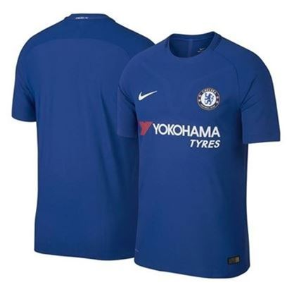 Picture of 2017-18 Chelsea Home Club Half Sleeve Exclusive Jersey