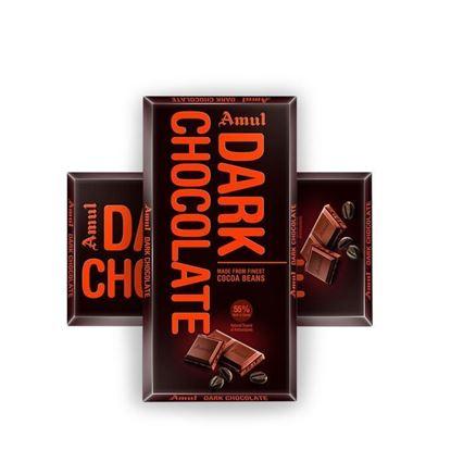 Picture of Amul Dark Chocolate - 2 Pcs