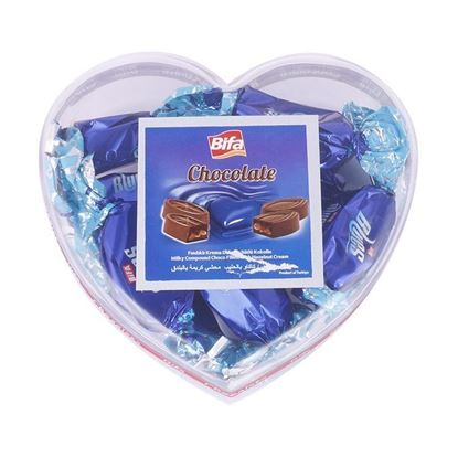 Picture of Bifa Heart Shaped Box Chocolate - 250gm