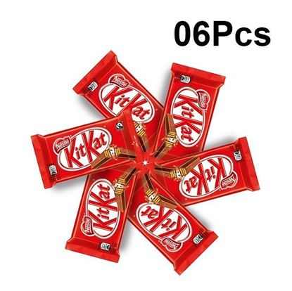 Picture of Nestle KitKat Chocolate 2 Finger-18.5 gm(6Pcs)