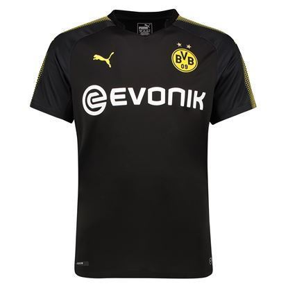 Picture of  2017-18 Borussia Dortmund Away Half Sleeve Exclusive Jersey