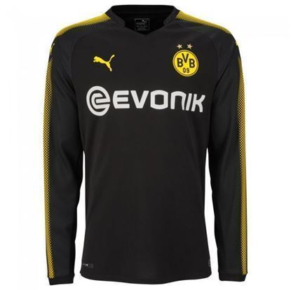 Picture of 2017-18 Borussia Dortmund Away Full Sleeve Exclusive Jersey