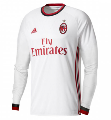 Picture of 2017/18 AC Milan Away Full Sleeve Exclusive Jersey