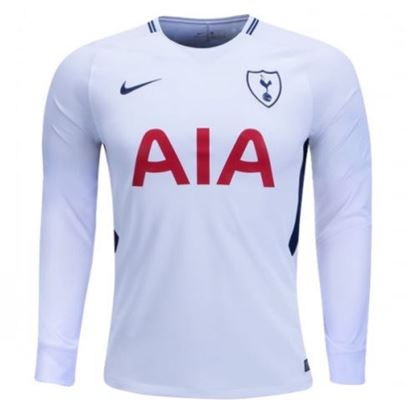 Picture of 2017/18 Totenham Hotspur Home Full Sleeve Jersey