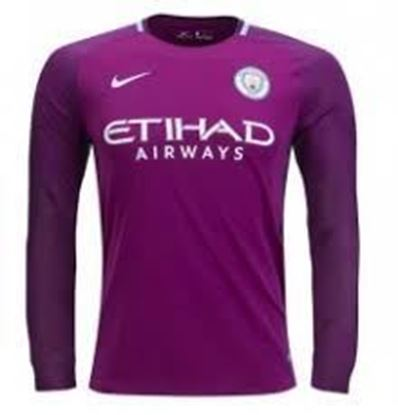 Picture of 2017/18 Manchester City Away Full Sleeve Jersey