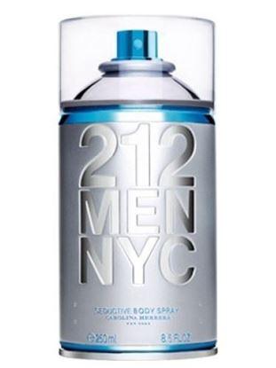 Picture of Carolina Herrera 212 Men NYC Body Spray-250 Ml