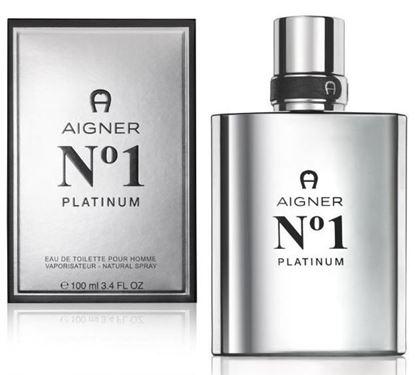 Picture of Aigner No.1 Platinum EDT For Men-100Ml