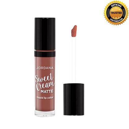 Picture of Jordana Sweet Cream Matte Liquid Lipstick - Cinamon Toast