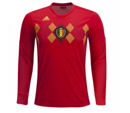 Picture of Belgium Home World Cup Special Full Sleeve  Jersey 2018