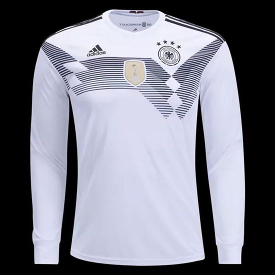 Picture of Germany Home World Cup Special Full Sleeve Jersey 2018