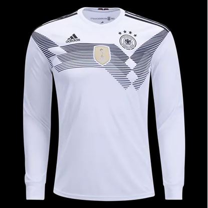 Picture of  Germany Home World Cup 2018 Exclusive Full Sleeve Jersey