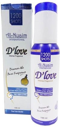 Picture of Al Nuaim D'Love Perfume Spray-100ml