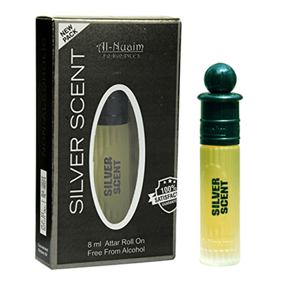 Picture of Al Nuaim Silver Scent Attar- 8ML