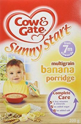 Picture of Cow & Gate Sunny Start Multigrain Banana Porridge from 7Months+ onwards-200 gm