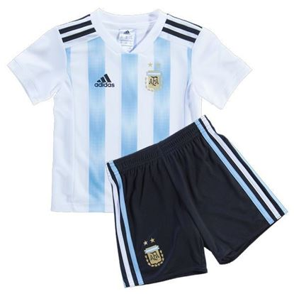 Picture of 2018 World Cup Argentina Home Jersey for Kids