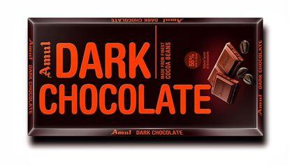 Picture of Amul Dark Chocolate - 1 Pcs
