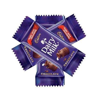 Picture of Cadbury Dairy Milk Chocolate-25gm(3Pcs)