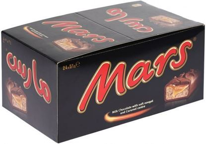 Picture of Mars Chocolate Bars 24-Pcs Box