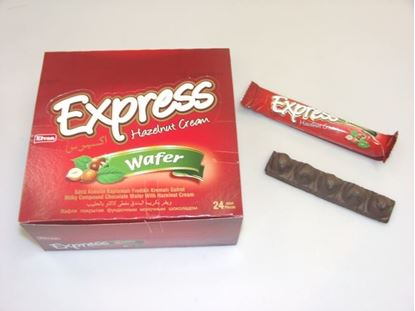 Picture of  Express Wafer Hazelnut Cream 24-Pcs