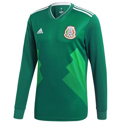 Picture of World Cup 2018 Mexico Home Long Sleeve jersey