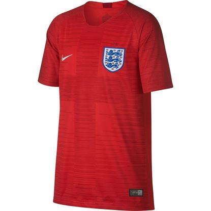 Picture of England Away World Cup Short Sleeve Jersey 2018 - Red