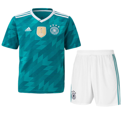 Picture of Germany Away World Cup 2018 Short Sleeve Jersey With Pant