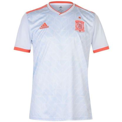 Picture of Spain Away World Cup Short Sleeve Jersey 201