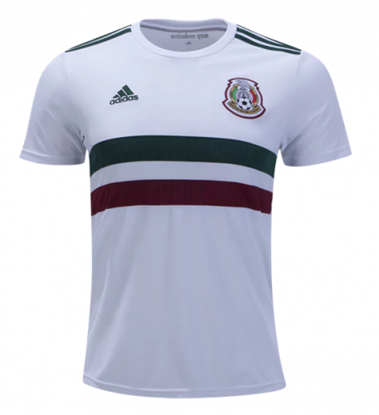 Picture of World Cup 2018 Mexico Away Short Sleeve jersey