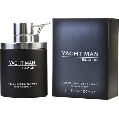 Picture of Yacht Man Black For Men - 100ml EDT