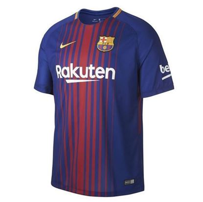 Picture of 2017/18 FC Barcelona Home Half Sleeve Jersey