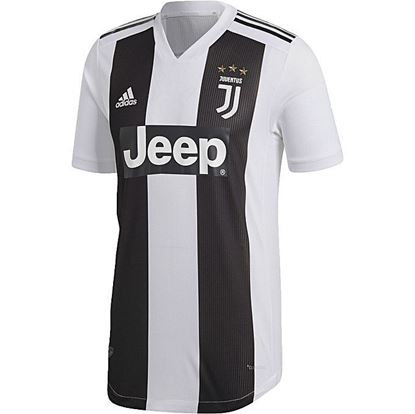 Picture of  2018 - 19 Juventus Home Short Sleeve Jersey (Player Version)