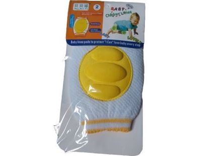 Picture of Baby Knee Protection Pads - Yellow
