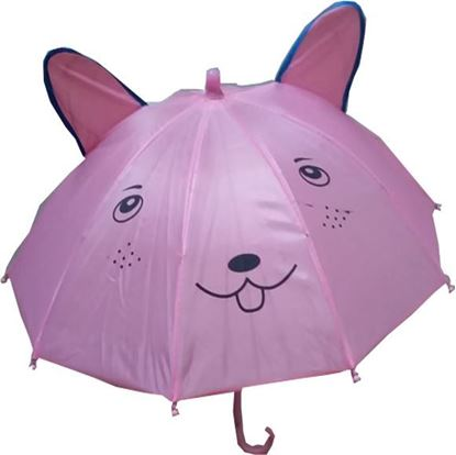 Picture of Polyester Kids Umbrella - Pink