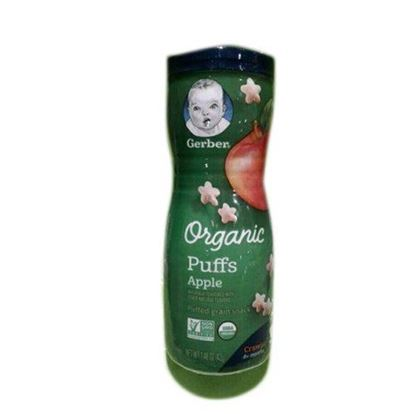 Picture of Gerber Organic Apple Puffs - 42gm