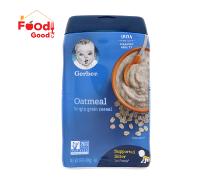 Picture of Gerber Oatmeal Single Grain Cereal - 454g
