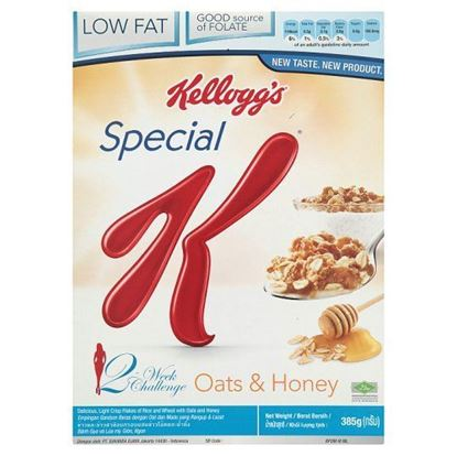 Picture of Kellogg's Special K Oats & Honey - 385gm