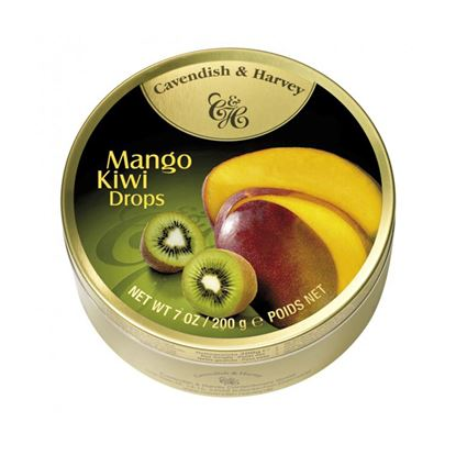 Picture of Cavendish and Harvey Mango Kiwi Drops Candy - 200g
