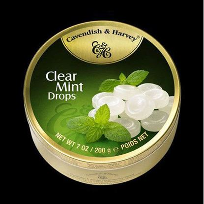 "Picture of Cavendish & Harvey ""Clear mint drops"""" -200g"