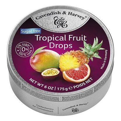 Picture of Cavendish & Harvey Tropical Fruit Drops -175gm