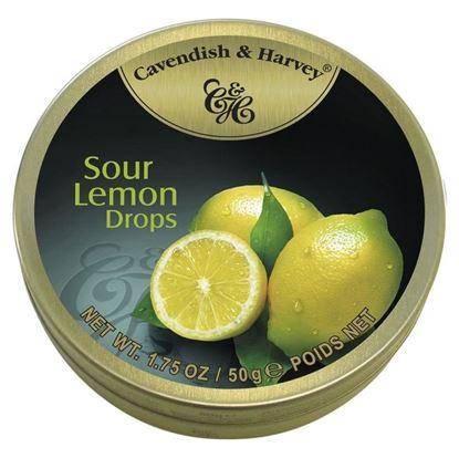 Picture of Cavendish & Harvey Sour lemon Drops - 175gm