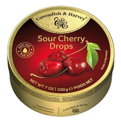 "Picture of Cavendish & Harvey ""Sour cherry drops -200g"