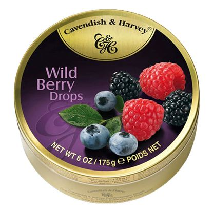 Picture of Cavendish & Harvey Wild Berry Drops -175gm
