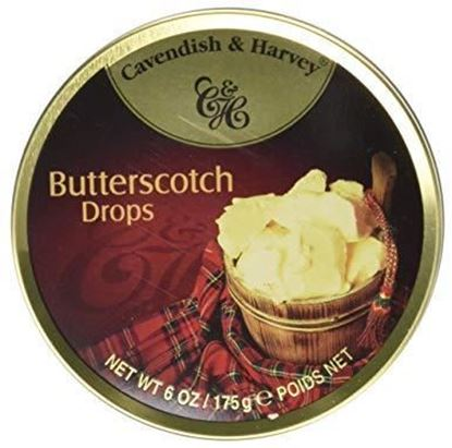 Picture of Cavendish & Harvey Butter scotch Drops - 175gm
